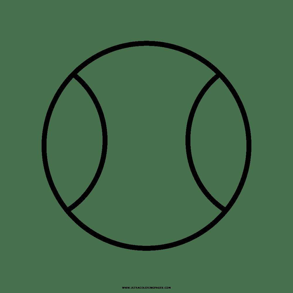 Palla Da Tennis Disegni Da Colorare