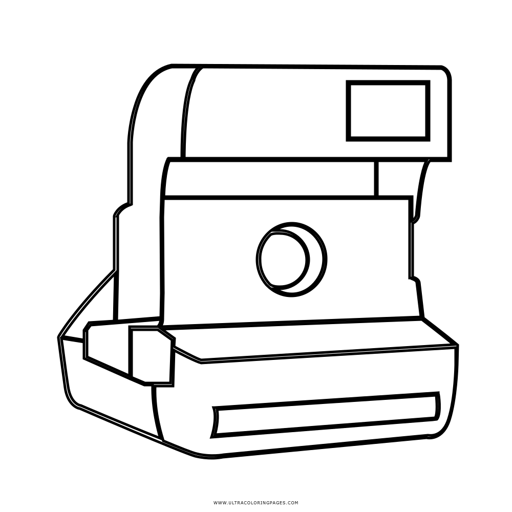 2015 Polaroid Camera Coloring Pages