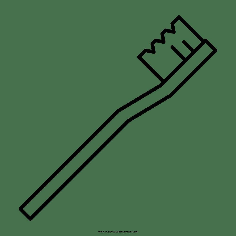 Zahnbürste Ausmalbilder - Ultra Coloring Pages