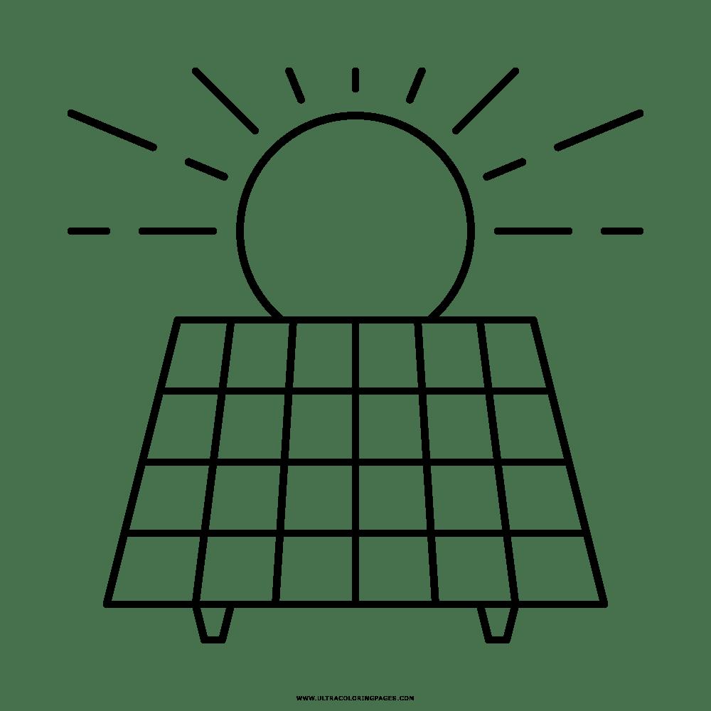 clases de energia colorear dibujo de energ 237 a solar