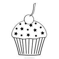 Cupcake Ausmalbilder   Ultra Coloring Pages