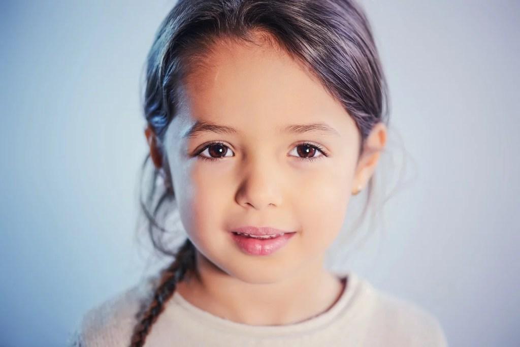 child, portrait, girl