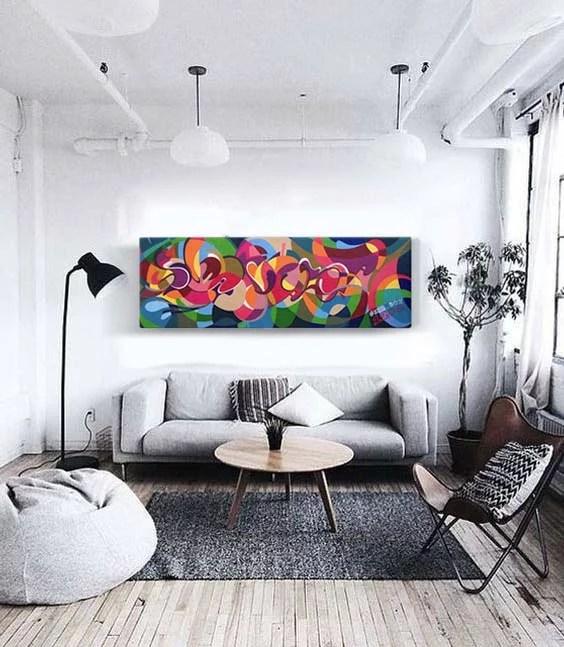 street art canvas wall decor graffiti