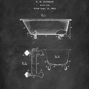 Bath tub patent