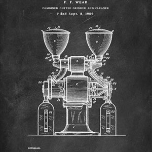 Coffee grinder patent
