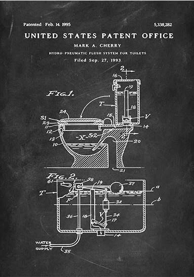 Hydro flush patent