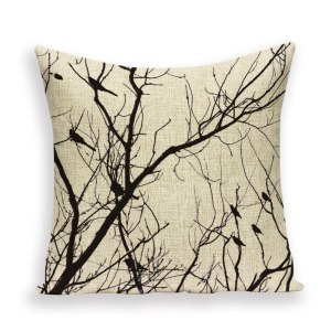 Calm tree cushion