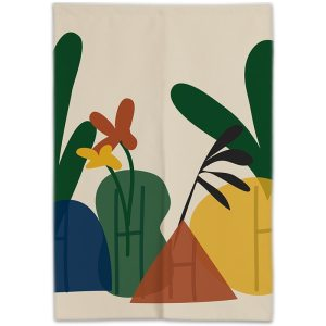 Aloe doorway curtain