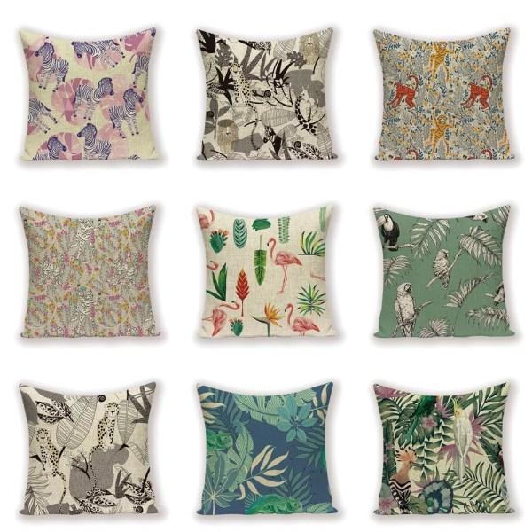 cushion jungle designs
