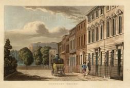 "LDNp10286, 'Berkeley Square', 1816. An original colour aquatint. 6"" x 8"". £POA."