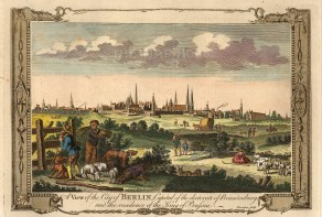 "Miller's, 'A View of the City of Berlin, c.1780. A hand-coloured original copper-engraving. 8"" x 12"". £POA."