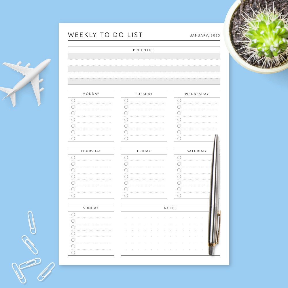 Task management templates | project management templates Weekly To Do List Templates Download Pdf