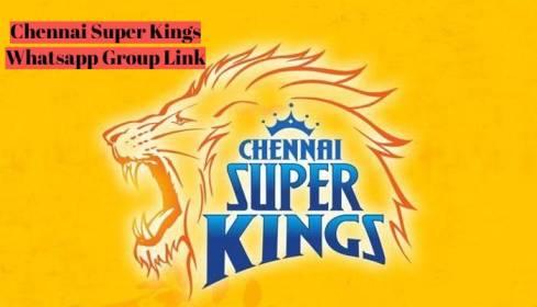 Chennai Super Kings Whatsapp Group Link
