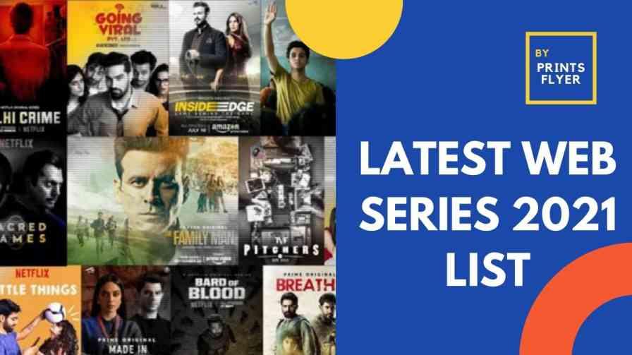 latest web series 2021 list