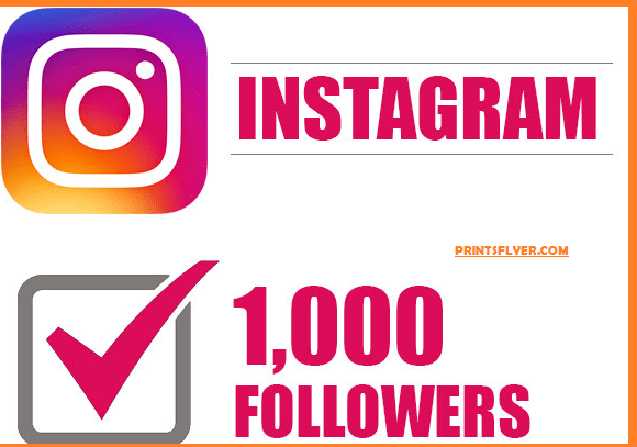 How to get 1k followers on Instagram in 5 minutes