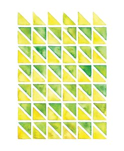 Yellow & Green Geometry
