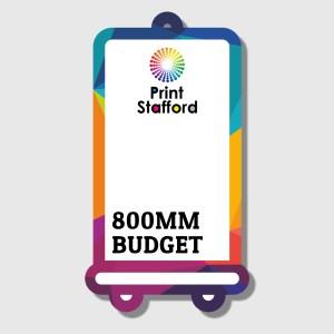 Budget roller banner printing