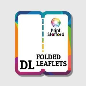 dl folded leaflets flyers