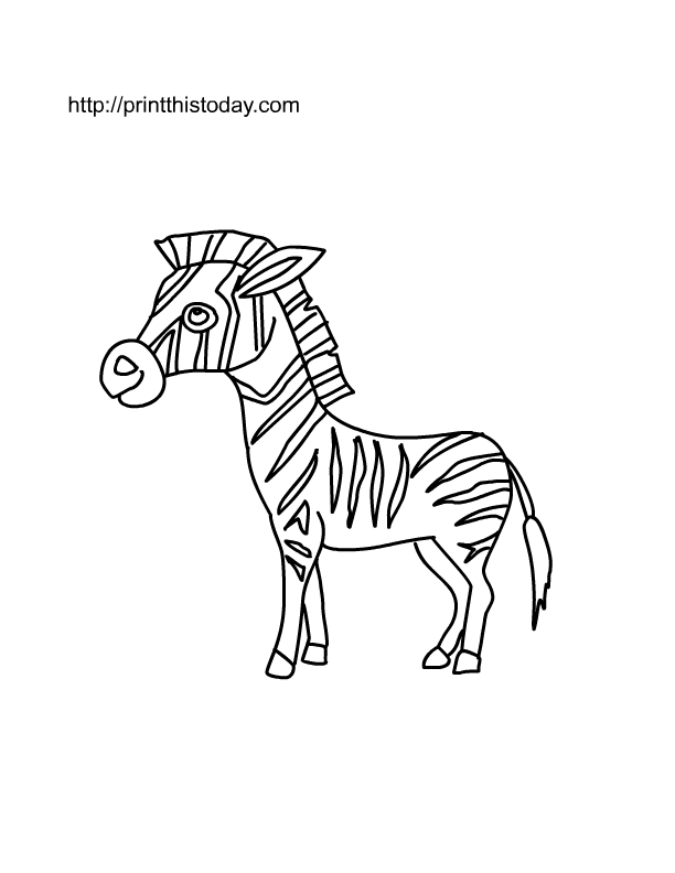 Free Printable Wild animals Coloring Pages (2)