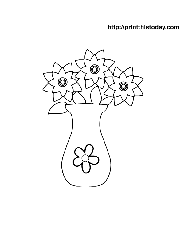 Free Mother's Day Coloring Pages (Printable)