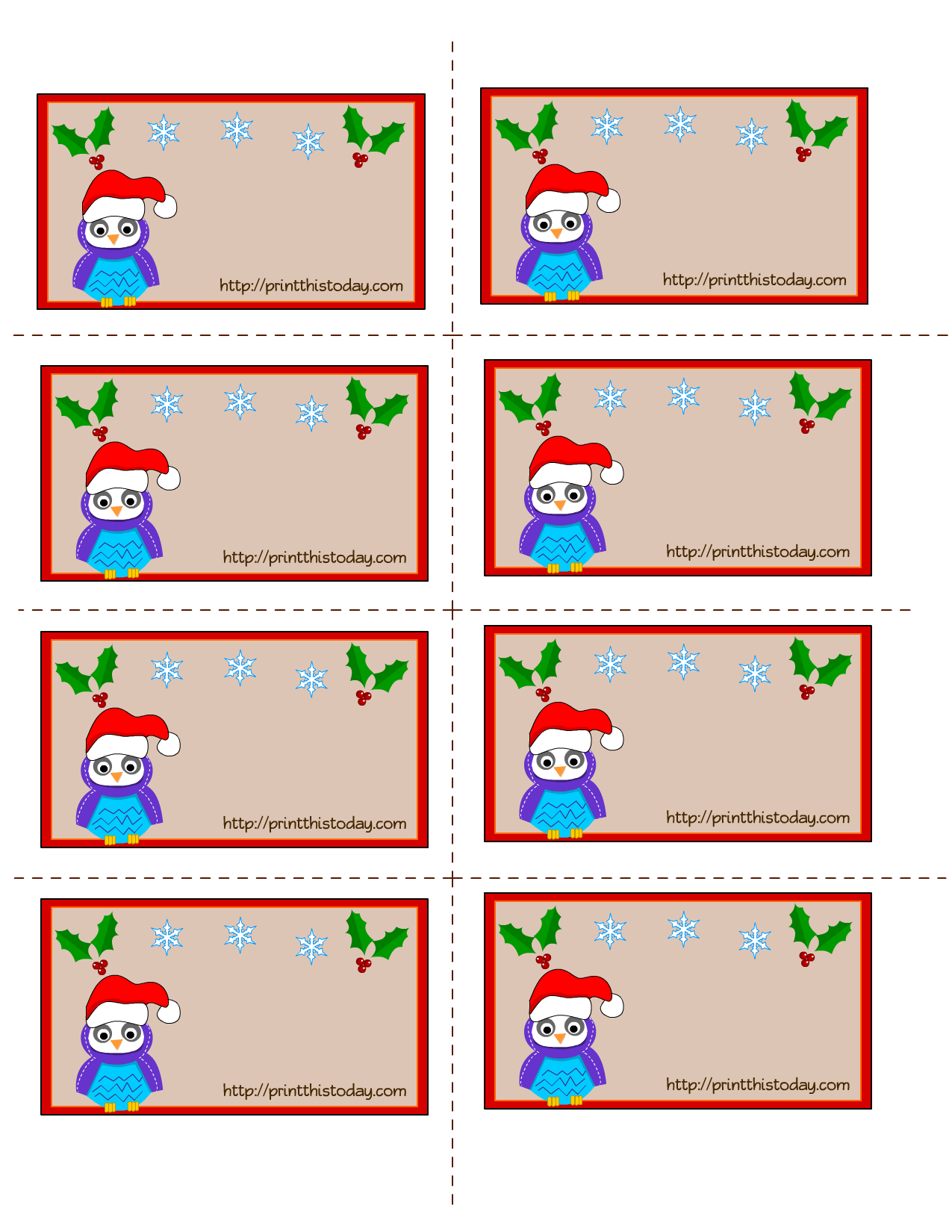 Images About Christmas Printable Stickers Amp Labels