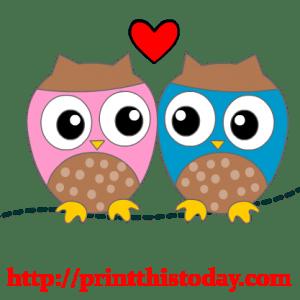 Free Love Birds Clip Art