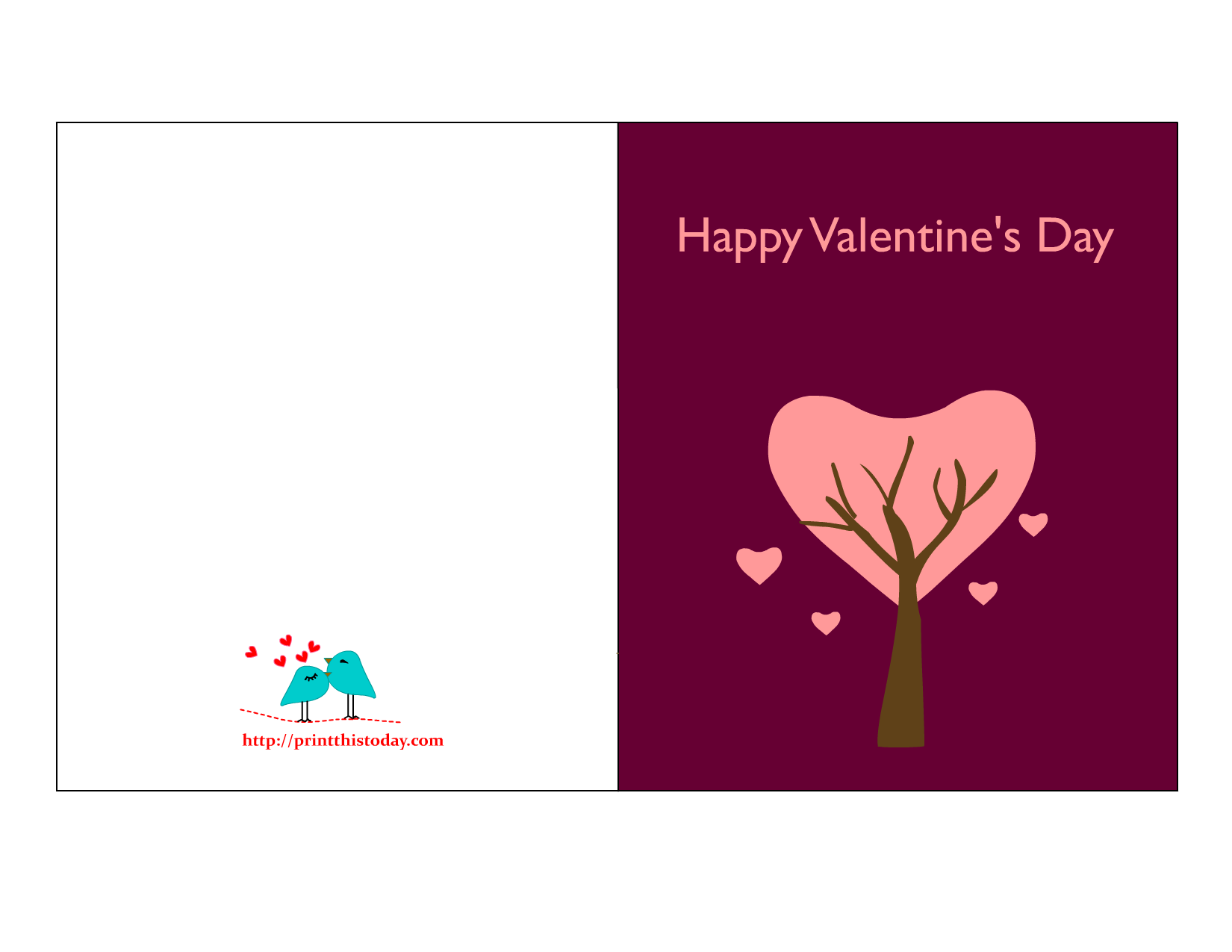 Valentine Cards To Print
