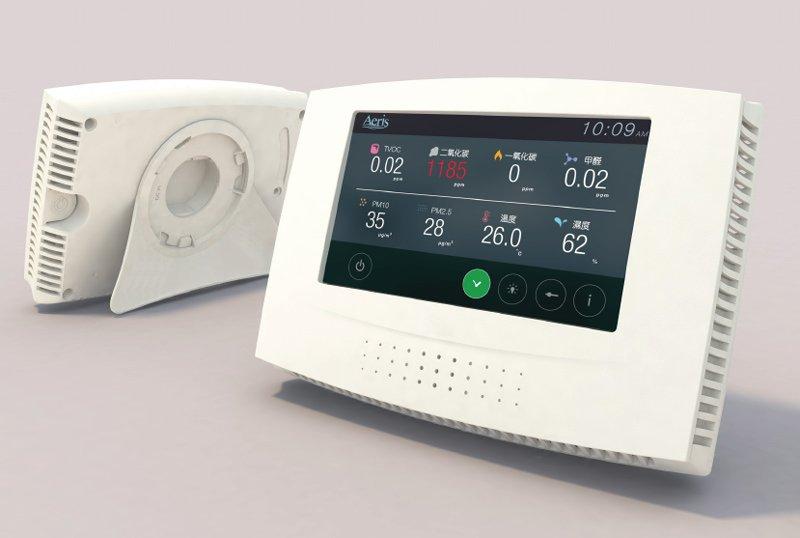 巡檢直讀式商用空氣品質偵測器 空氣品質監測 空氣品質檢測器