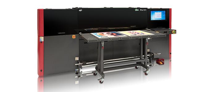 EFI Pro 16h Hybrid Roll-to-Roll/Flatbed Printer