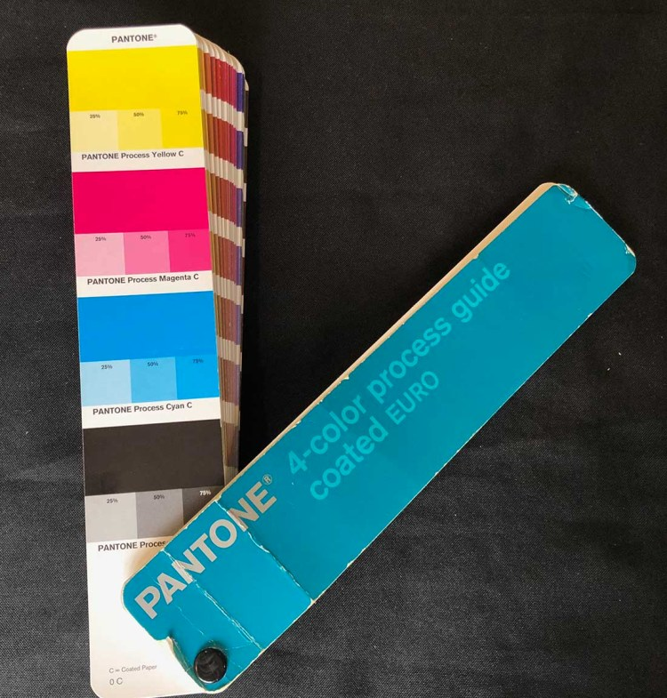 Pantone Guide Tints of CMYK
