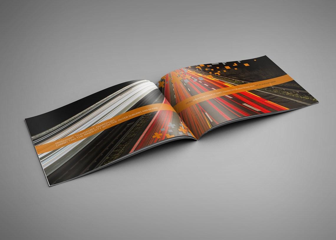 Silk Landscape Brochure Printing