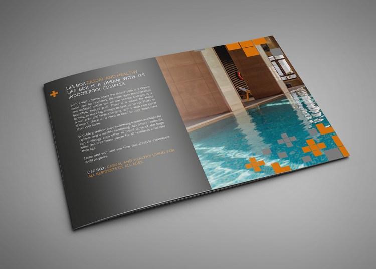 A5 Landscape Brochure Printing