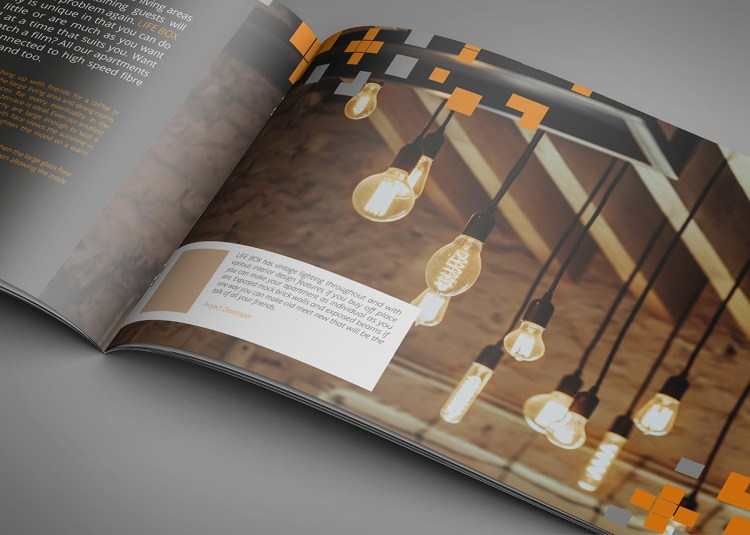 A4 Landscape Brochure Printing