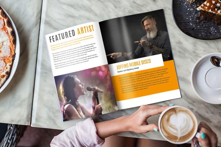 Portrait Brochure Internal Pages