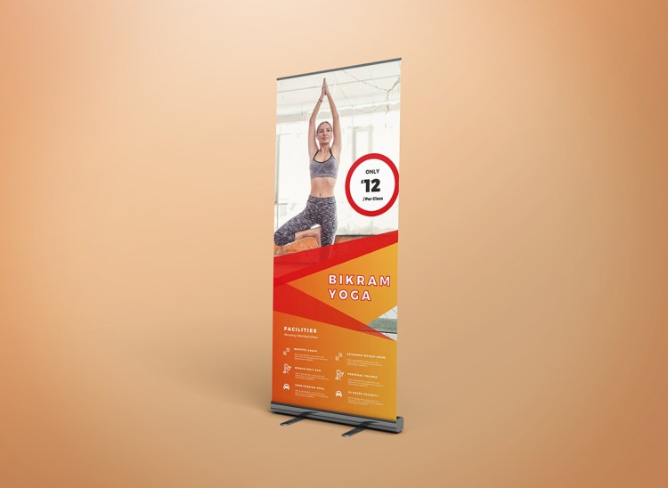 Left Roller Banner Pop Up Banner
