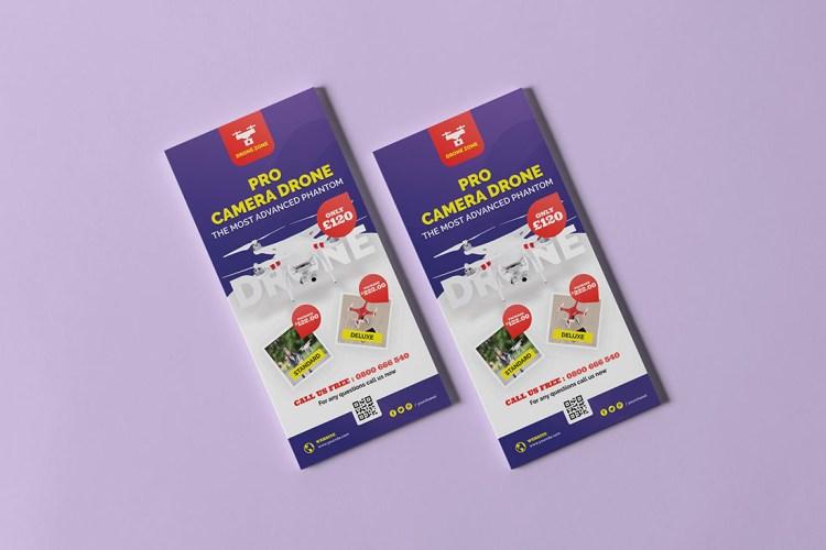 DL Colour Leaflet & Flyer Printing Services
