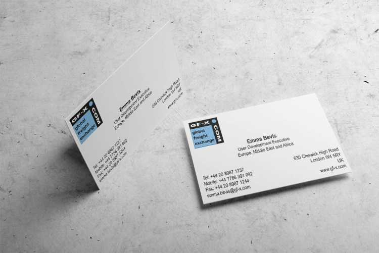 Business Cards 90mmX55mm Long