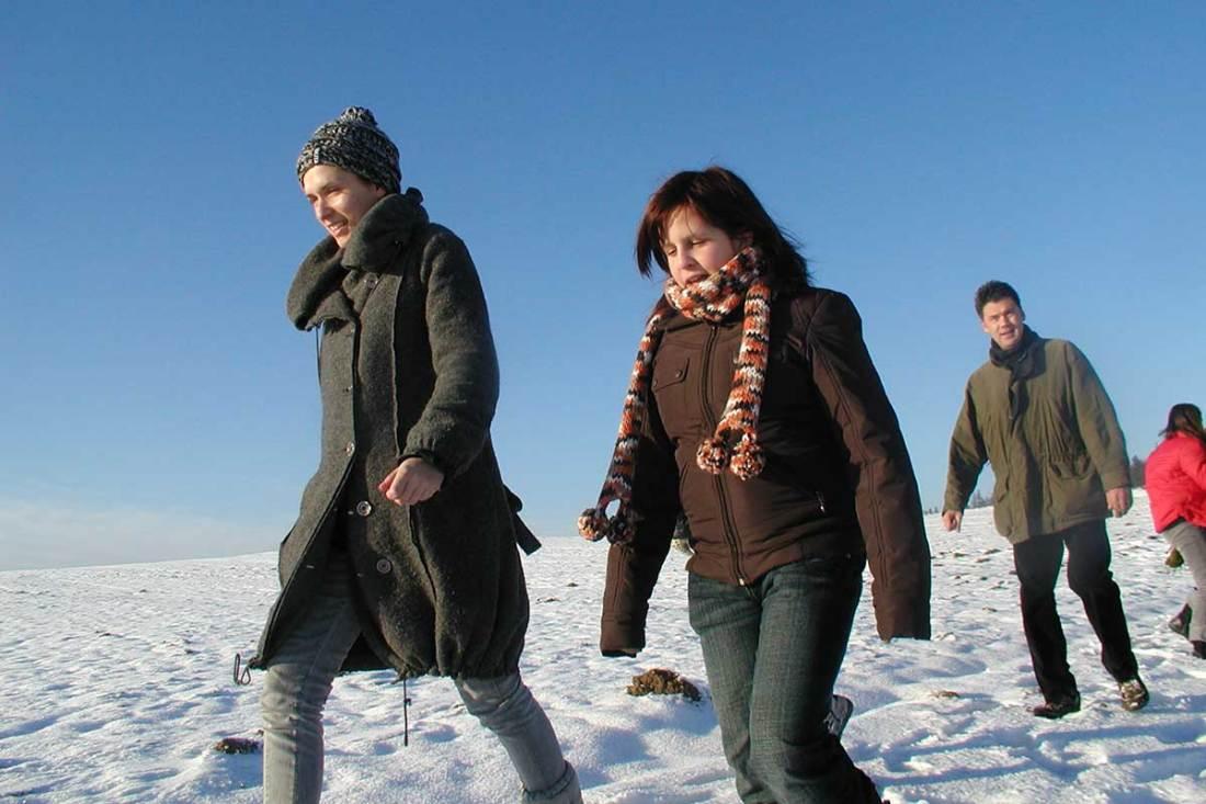 Winterwanderung am Prinzenhof