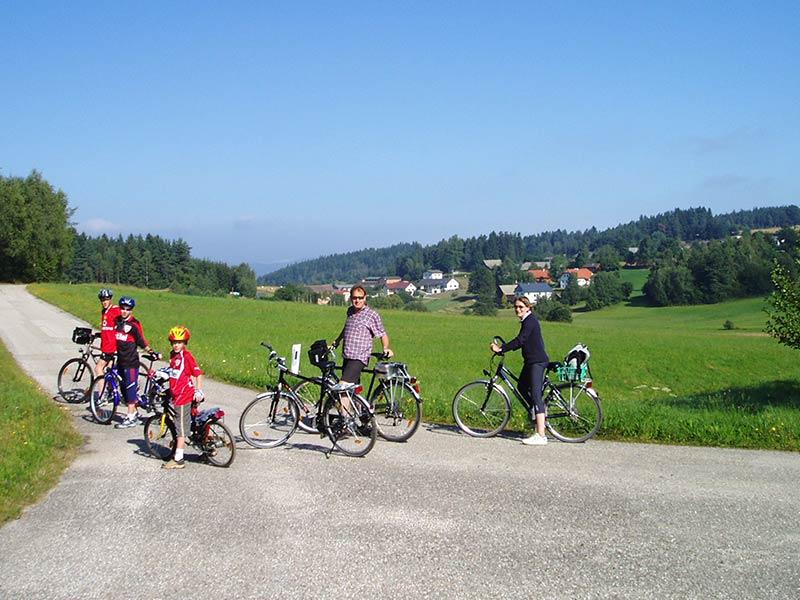 Radfahren im Waldviertler Hochland