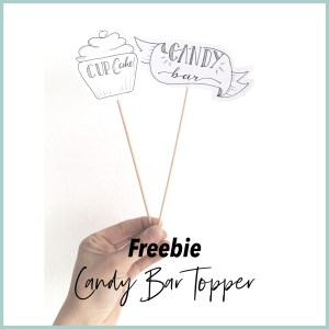 Freebie CandyTopper