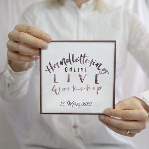 Handlettering Online Workshop