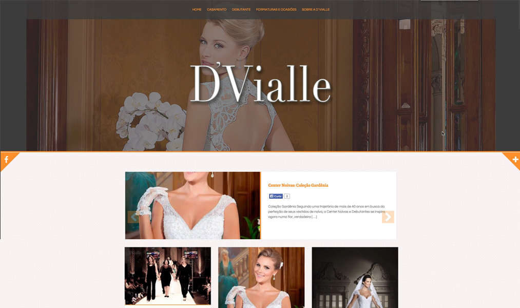 Website - DVialle Noivas