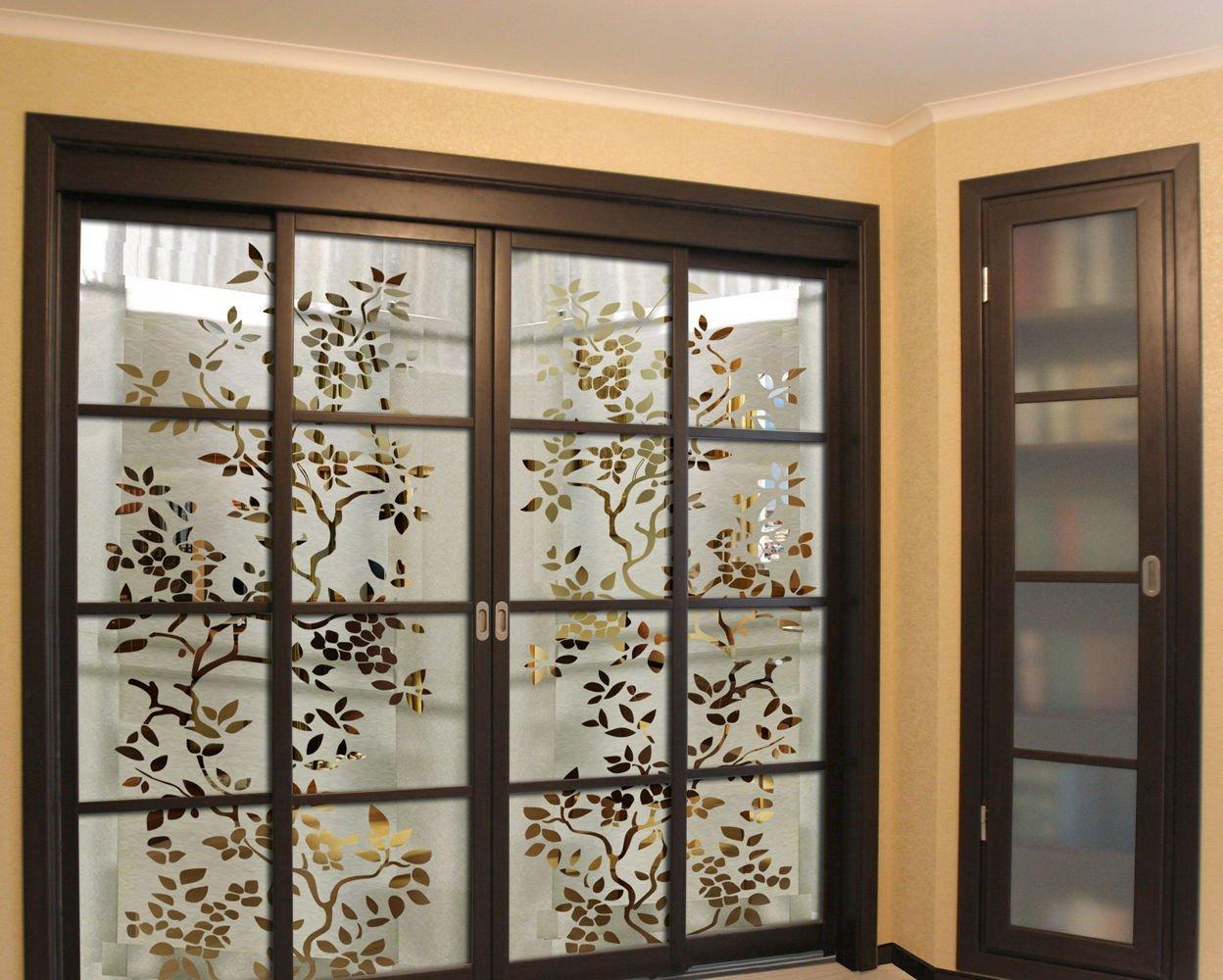 Фото №1 Витражные стекла для дверей