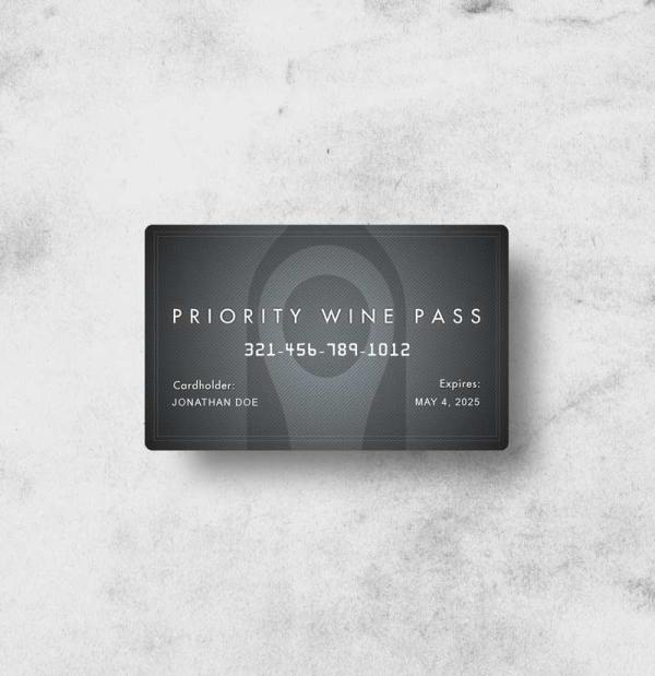 Priority Wine Pass