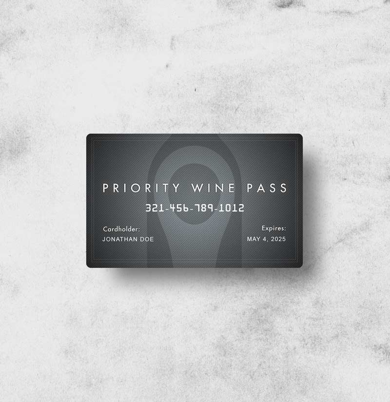 1 Year Wine Pass