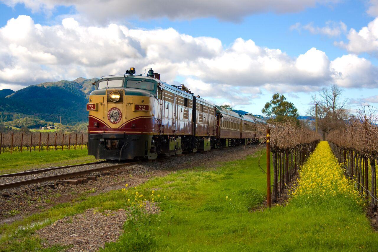 Napa Wine Train – Gourmet Express
