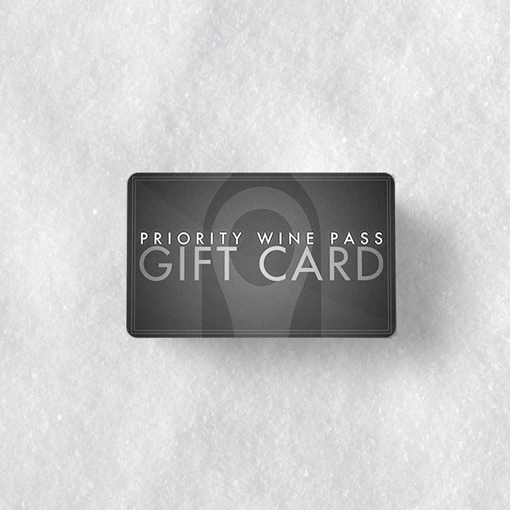 Priority Wine Pass Gift Card