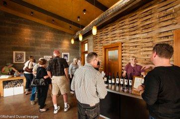 USA, Washington, Yakima Valley. Wine scenes from the Red Mountain AVA in Eastern Washington.