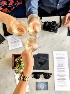 Cheers to the Napa Wine Train