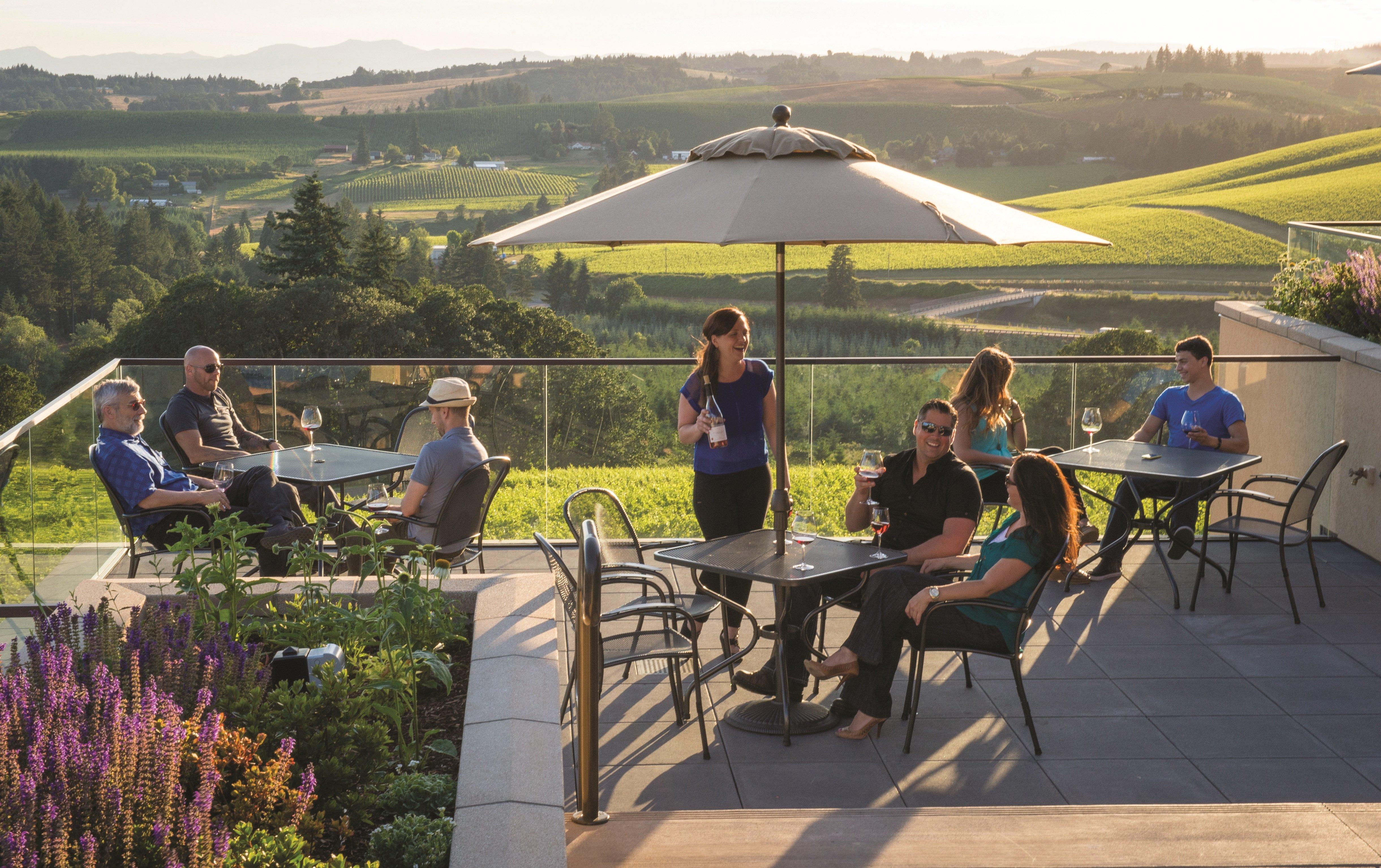 Willamette Valley Vineyards Estate Tasting Room
